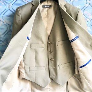 full three piece suit